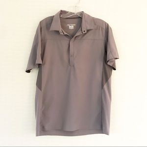 Arc'teryx Grey Outdoors Athleisure Polo Shirt